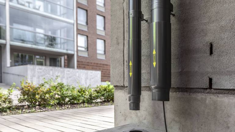 Kotimainen innovaatio kerrostalokohteisiin – puhdistusputki sadevesijärjestelmiin